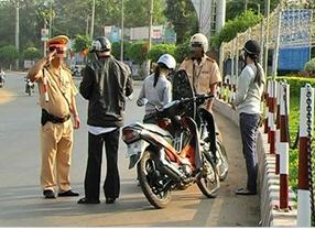 Cảnh sát giao thông không có quyền rút chìa khóa xe!