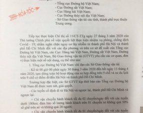 CÔNG TÁC PHÒNG CHỐNG DỊCH COVID-19